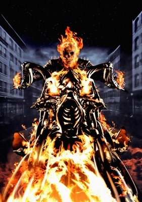 ghost rider movie poster 2007 poster
