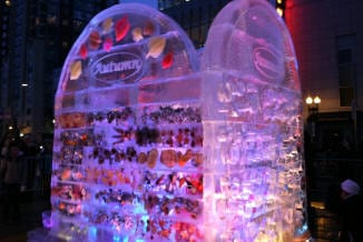 Boston first night ice carving 31