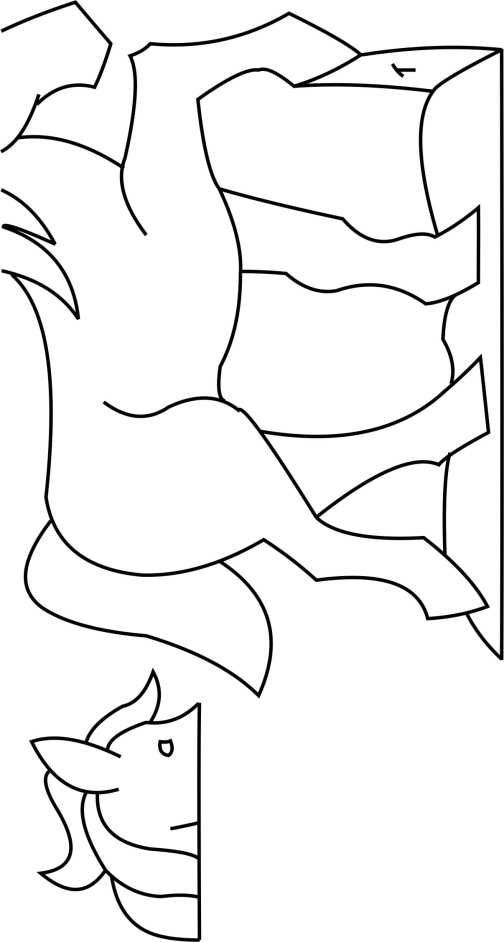 Carriage horse Template