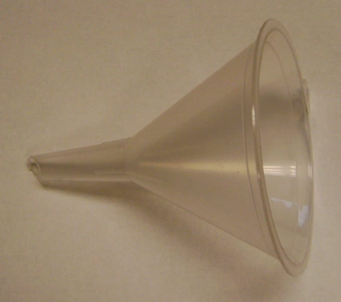 funnel for luges