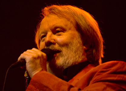 Benny Andersson addressing Globen on October 26th, 2007