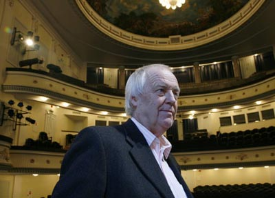 Sir Tim Rice in Talinn