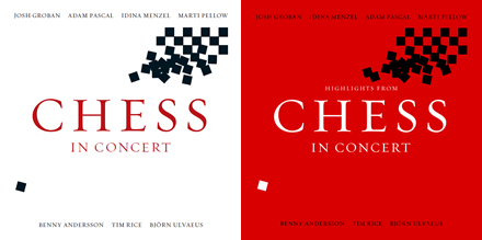 CHESS IN Concert CD covers
