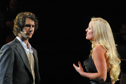 Josh Groban and Kerry Ellis