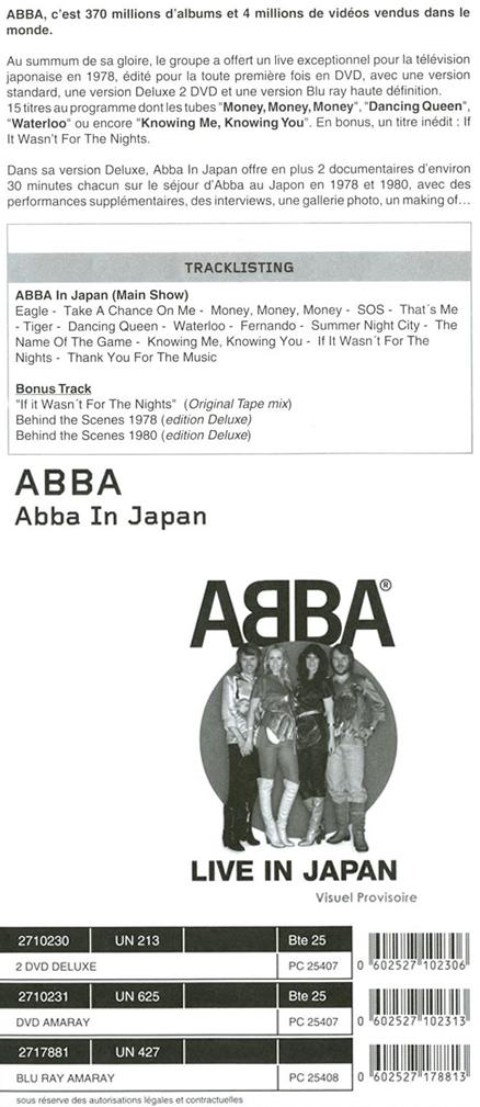 Live In Japan Details