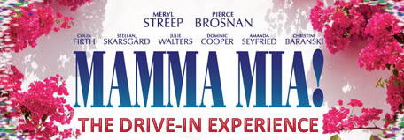 Mamma Mia! screening at Pinewood's Drive-In