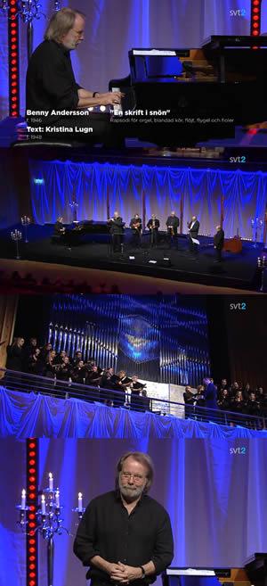 Performing at the Piteå Acusticum