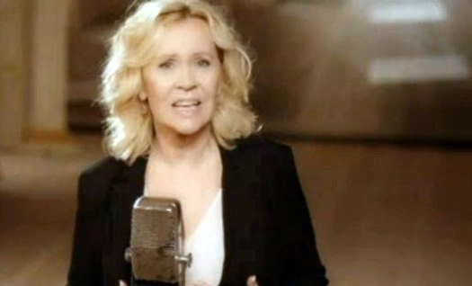 Agnetha appearing in the video for her single 'When You Really Loved Someone'