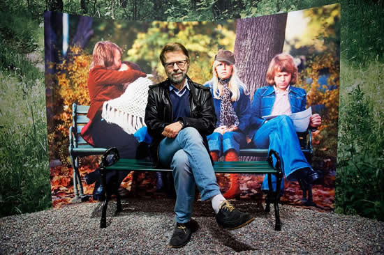 Björn pictured at ABBA The Museum for Svenska Dagbladet - Photo: Lars Pehrson