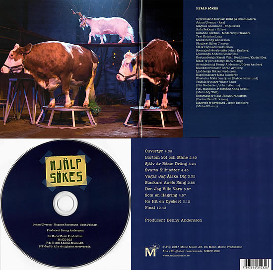 Scans of the 'Hjälp sökes' CD - the full colour booklet comes complete with all of Björn's lyrics.