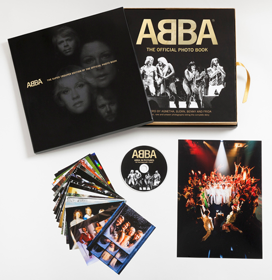 ABBA - The Official Photo Book Super Trouper Limited Edition