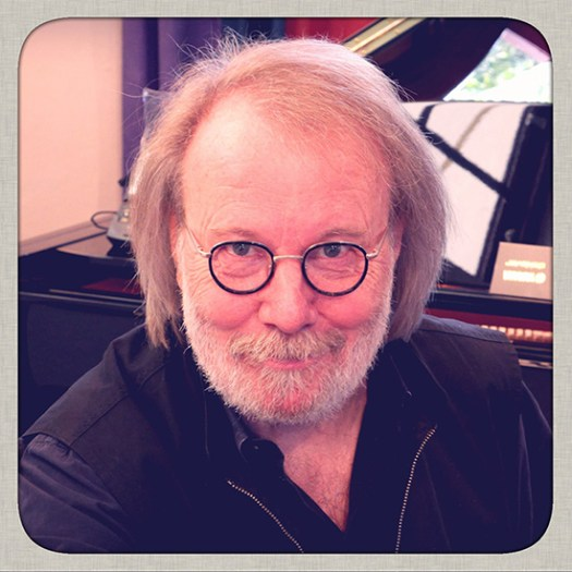 Benny Andersson at Mono Music, December 2013