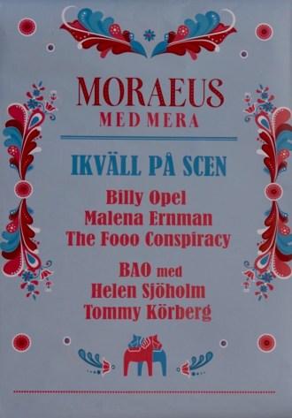 Moraeus med mera - poster