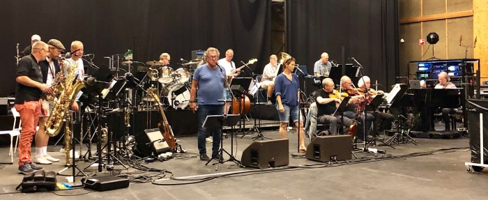 22 July 2019: Benny Anderssons Orkester in rehearsals