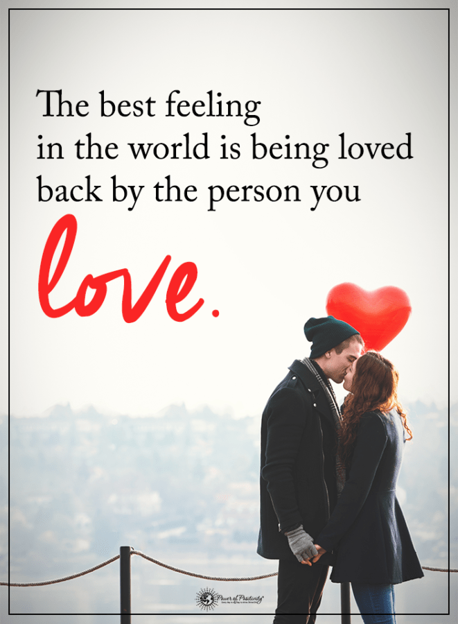 5 signs of love