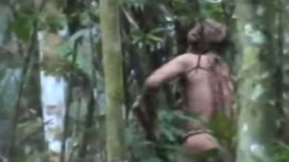 PHOTO: The lone survivor of an Amazonian tribe has been living alone for 22 years.
