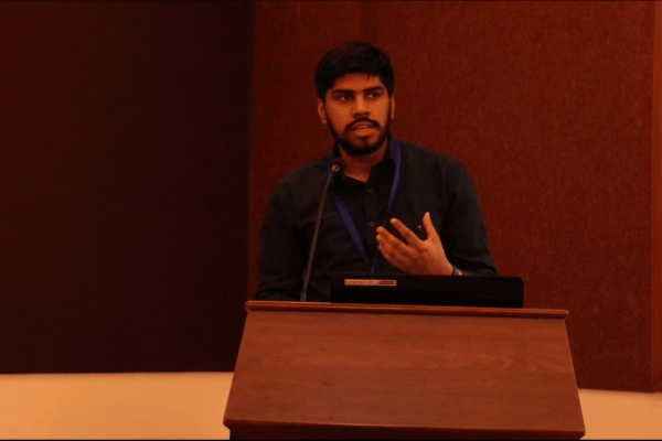 Dhruv Singh at IC InnovatorClub Meeting