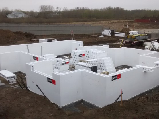 Insulated Concrete Foundation Pictures In Sherwood Park