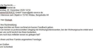 Mietwohnungen in Wildau bei uns mieten - Hausverwaltung - Immobilienverwaltung - Makler