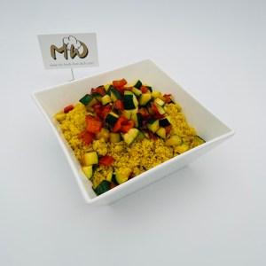 Couscous Gemüse Salat