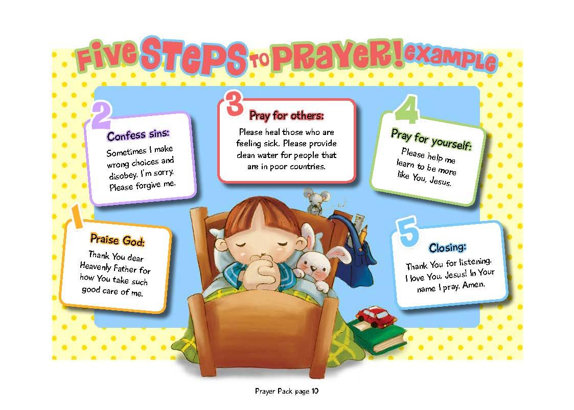 Family Prayer Ideas Icharacter