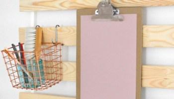 Wandregal ikea  DIY Utensilo - IKEA Hack mit Lattenrost SULTAN LADE - ICH DESIGNER