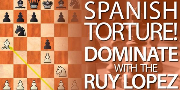 Learn how to play the Spanish Torture Ruy Lopez, Beginning with 1.e4 e5 2.Nf3 Nc6 3.Bb5