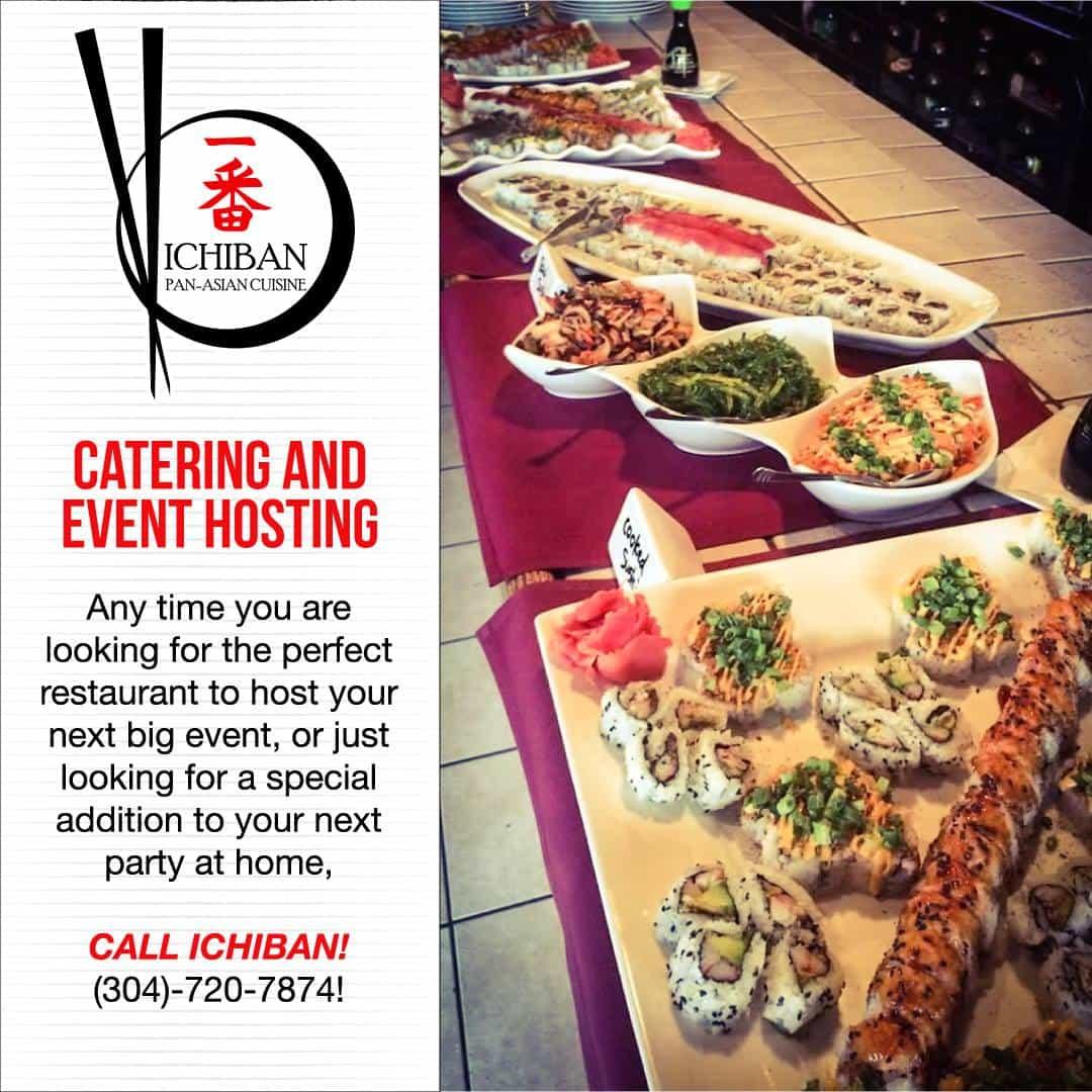 Catering | Charleston WV | Ichiban Pan-Asian Cuisine