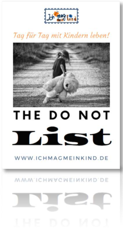 the do not list