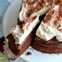 Schokoladenkuchen mit Mascarponecreme
