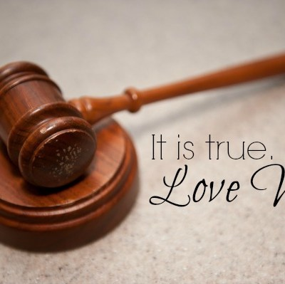 It is true.  Love Won.