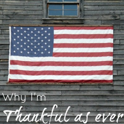 Why I'm Thankful as Ever to be an American