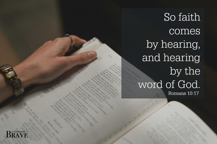 Faith comes by the Word. Bible study tools for women to help you prioritize reading the Bible.