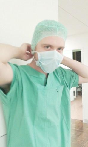 Herzmann im OP