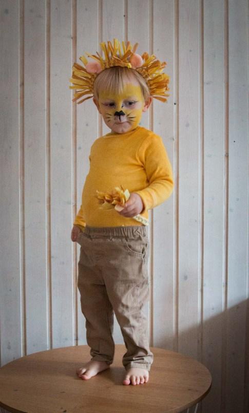Ein schnelles Löwenkostum als Fasching Verkleidung für die Kinder. Kinder verkleiden sich super gerne, dieses Kostüm ist gemütlich, günstig und macht was her. Die Löwenverkleidung findet ihr auf dem Blog   Ichsowirso.de