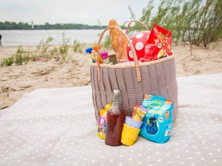 Picknick am Elbecamp