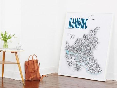 Rapü Artprint Hamburgposter