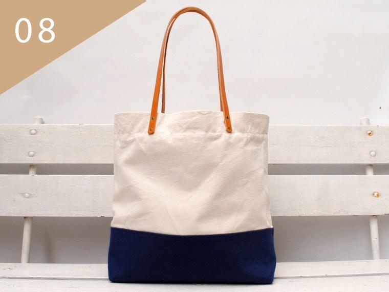 June handmade Taschen gibt es heute im Adventskalender Türchen auf dem Blog. Der schöne Canvas Shopper ist ein super begleiter.