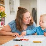 Über das Mama sein und ein geflüstertes Wort