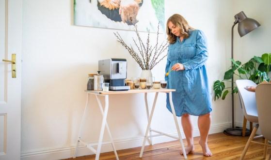 Brunchen mit dem neuen Vollautomaten Esperto Caffé von Tchibo. Wie ich auch als Gastgeber entspannt bleibe. Tipps zum brunchen jetzt auf dem Blog | Ichsowirso.de