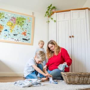 Nachhaltige Kinderkleidung // Kaufen, leihen, verschenken
