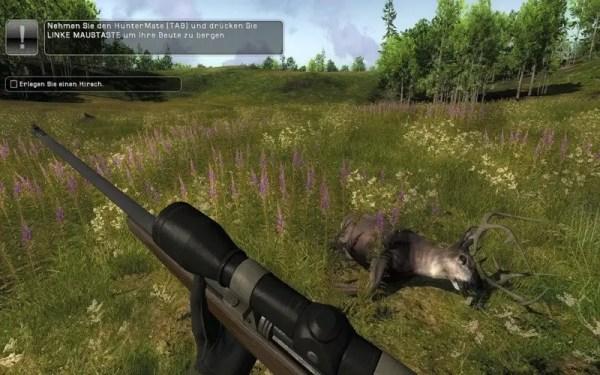 Zubehör bei The Hunter 2012 im Einsatz