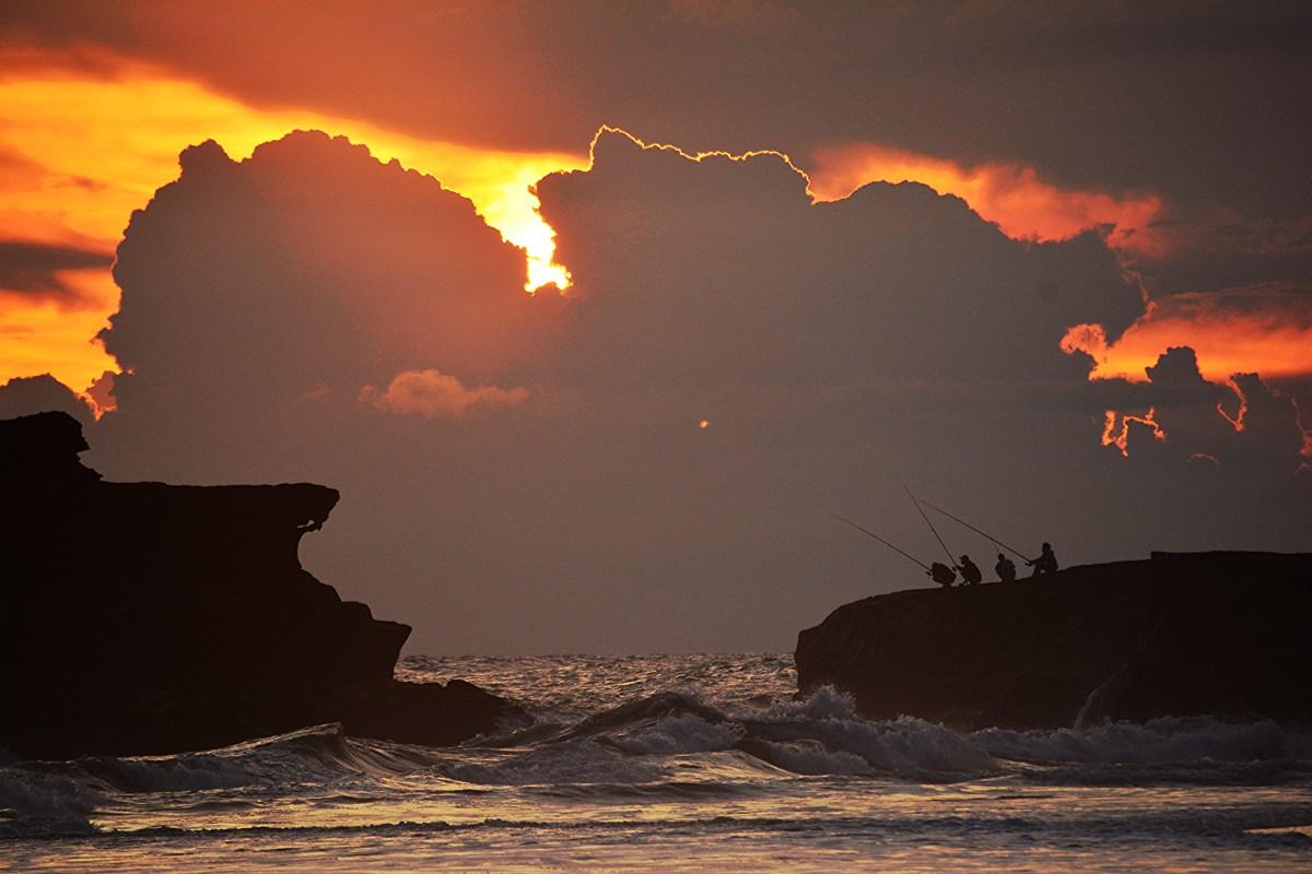 Bali coucher de soleil