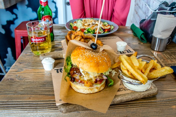 Burger Croatie Split Food