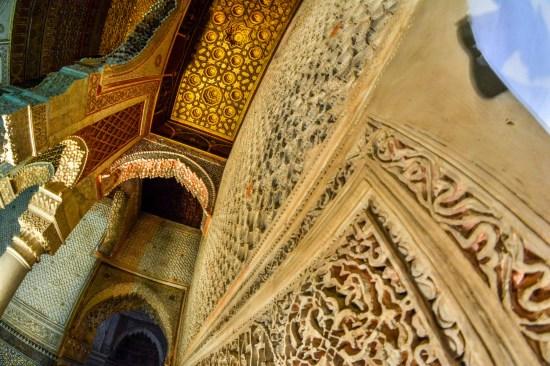 Les Tombeaux Saadiens Maroc Blog de voyage