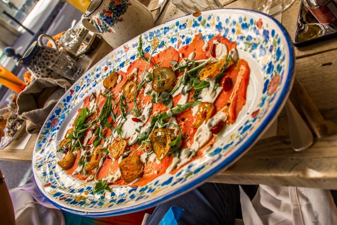 restaurant paris blog voyage bien manger à paris tarte carpaccio