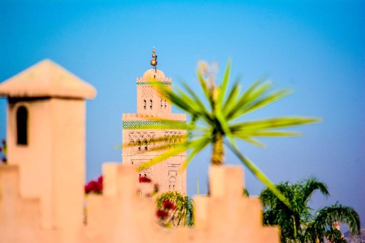 mosquée Koutoubia marrakech maroc blog voyage blog voyage icietlabas