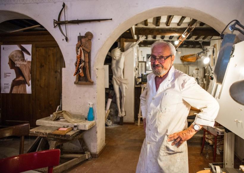 Italie toscane sienne pierluigiolla pier luigi olla artiste voyage blog blogvoyage icietlabas