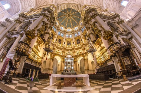 blog voayge Cathédrale de l'incarnation à Grenade L'alhambra