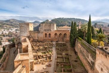 Visiter l'Alhambra à Grenade l'Alhambra Alhambra Grenade Andalousie Espagne Blog Voyage Icietlabas